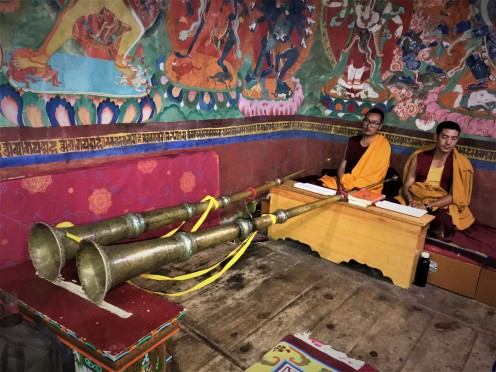 Dungchen, a Long Trumpet or Horn, a Widely used Instrument in Tibetan Buddhist Culture